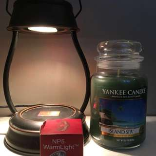 Yankee Candle with Candle Warmer