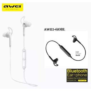 [Original]Awei A610BL Sports Wireless In-Ear Wireless Smart Sports Bluetooth Headset Stereo Earphones