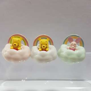 Pooh Bear and Piglet rainbow tumbler  (Set of 3)