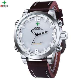 NORTH Jam Tangan Analog Digital - 6017 - White