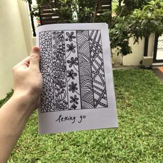 Letting Go, a poetry zine