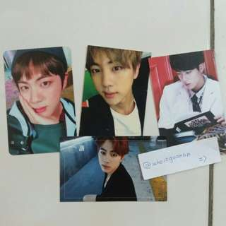 [CLEARANCE] BTS JIN OFFICIAL PC