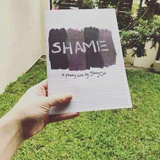 Shame, a poetry zine