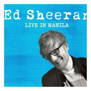ED SHEERAN MANILA 1 SILVER TICKET