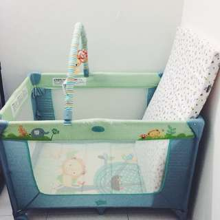 Preloved - Bright Star Playpen