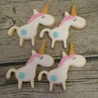 自家製獨角獸曲奇 Unicorn cookie