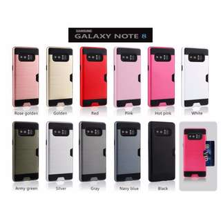 ★Premium★ Card Note 8 Case Cover Casing