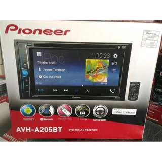CAR AUDIO @ Pioneer AVH  A205 BT