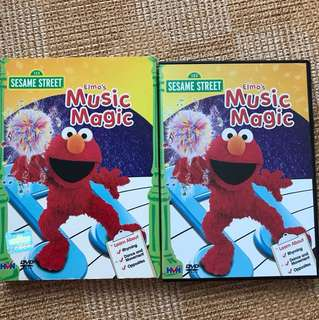 Elmo Music Magic DVD