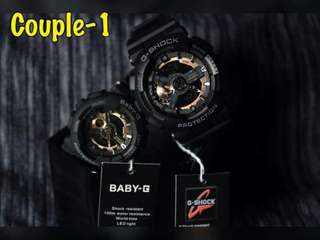 Couple G Shock and Baby G OEM Watches