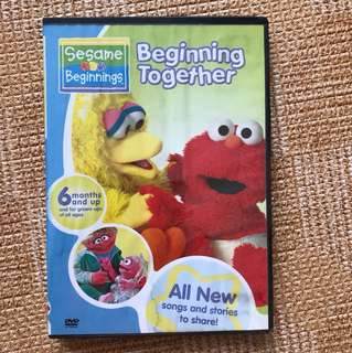 Elmo Beginning Together DVD