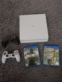Playstation 4 Mini (White) for Sale