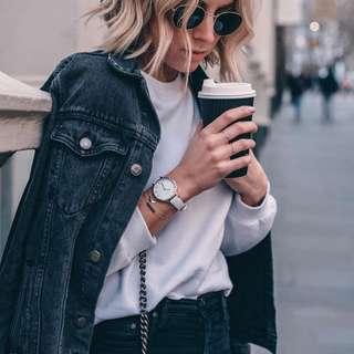 Glassons black denim jacket