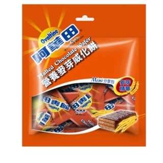 台灣代購🇹🇼阿華田迷你威化餅100g