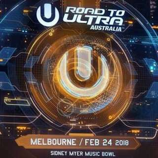 2 X ULTRA MUSIC TICKETS