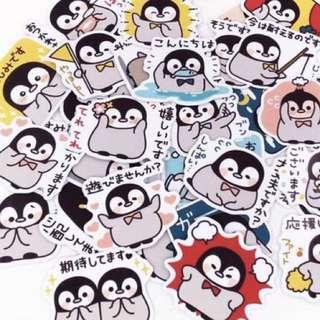 ⏰ Planner Stickers — Penguin / Animals