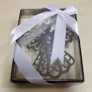 Angel design metal ornate bookmark