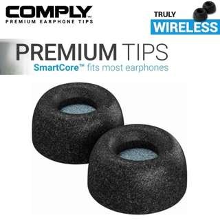 Comply Truly Wireless SmartCore Foam Eartips with WaxGuard (3-pairs)