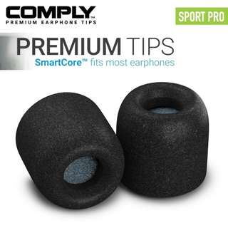 Comply Sport Pro SmartCore Foam Eartips with WaxGuard (3-pairs)