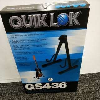 "QuikLok Low ""A"" stand for Electric Guitar"