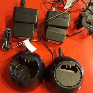 Motorola charging dock and accessories