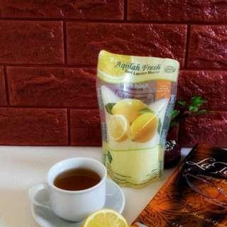 Lemon Aqila kemasan baru 500 ml