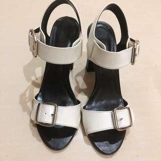 charles keith block heels