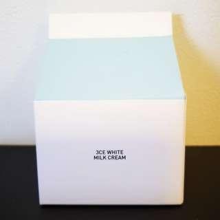 Brand New 3CE White milk cream (Authentic!)