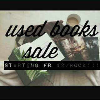 SALE Used Books
