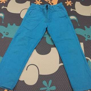 Celana Superman Biru