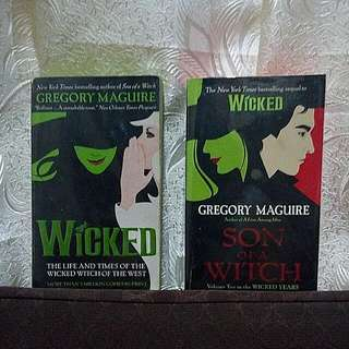 Wicked || Son of a Witch Bundle [Gregory Maguire]