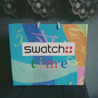 *Limited Edition* Original Swatch Paper Bag
