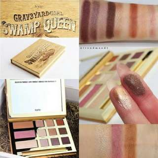 Tarte swamp queen eye cheek palette with brush