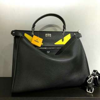 FENDI Tote Bag Black