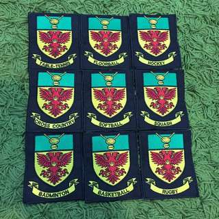 Embroidery Patchs (For Events/Schools/Company)