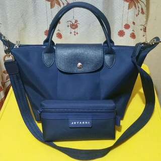 Jovanni Bag (Longchamp style) with pouch