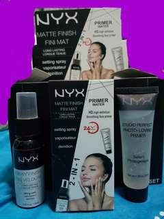 NYX Primer + Dewy Finish Spray