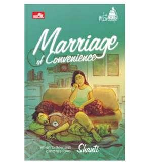 Ebook Marriage of Convenience - Shanti