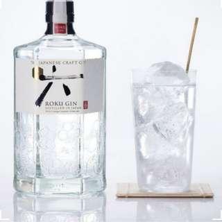 🈹【日本直送】Roku Gin 六 琴酒 (氈酒) 700ml