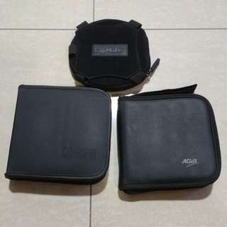 CD/VCD holder and case