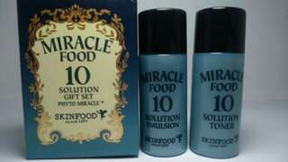 SKINFOOD Miracle 10 Solution Gift Set