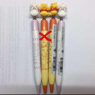 🇯🇵迪士尼 Winnie the Pooh 小熊維尼 Marine貓鉛芯筆 包平郵