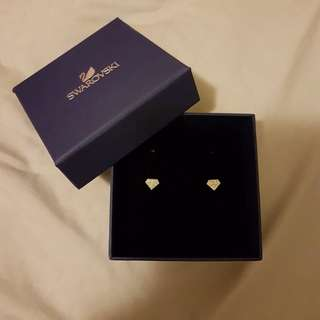 Swarovski Authentic Diamond Stud Earrings