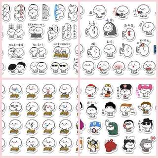 [Instocks 📩] Planner Stickers: Character / Emoji / Expression 乖巧宝宝