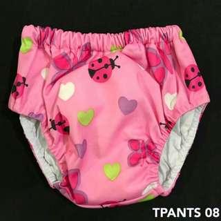 washable training pants