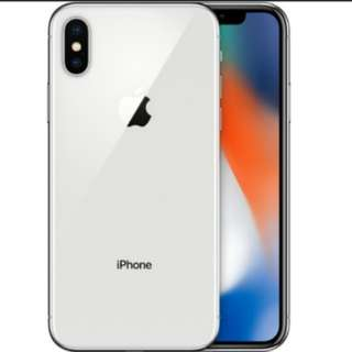 Apple iphone x 256GB silver sealed