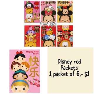 Disney Tsum Tsum Red Packets