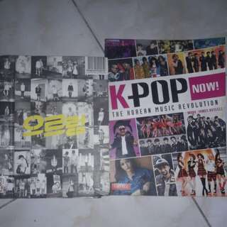 EXO XOXO 1ST ALBUM REPACKAGED + KPOP NOW MAGAZINE (280, 200 each)
