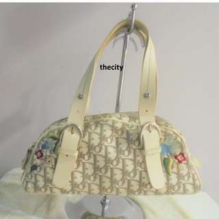 AUTHENTIC DIOR LIMITED EDITION  FLORAL MONOGRAM TROTTER MEDIUM TOTE