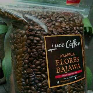 Kopi Arabica Flores Bajawa 500gr - Biji atau Bubuk
